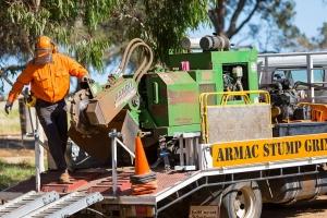 Ray Armac Stump Grinding